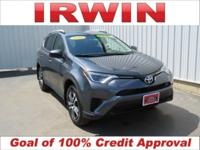 AWD, 2016 Toyota RAV4 LE AWD 6-Speed Automatic 2.5L