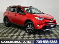 One Owner 2016 Toyota RAV4, All Wheel Drive, Power moon