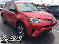 Recent Arrival! 2016 Toyota RAV4 in Red, Bluetooth,