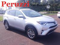 CARFAX One-Owner. Clean CARFAX. Silver 2016 Toyota RAV4