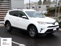 Check out this gently-used 2016 Toyota RAV4 Hybrid we