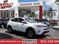 Boasts 30 Highway MPG and 34 City MPG! This Toyota RAV4