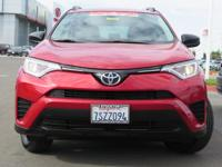 Options:  2016 Toyota Rav4 Sport Utility Le|Red|2.5L