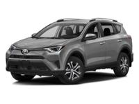 This outstanding example of a 2016 Toyota RAV4 LE is