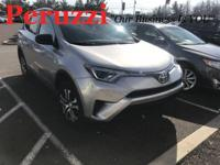 CARFAX One-Owner. Silver Sky Metallic 2016 Toyota RAV4