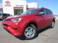 This 2016 Toyota Rav4 comes equipped with all-wheel