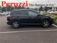 CARFAX One-Owner. Clean CARFAX. Black 2016 Toyota RAV4