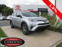 2016 TOYOTA RAV4 LE!! AWD, 2.5L, TOYOTA CERTIFIED 7