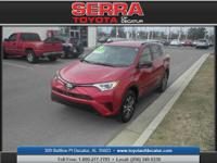 All Wheel Drive! Come to Serra Toyota of Decatur! There