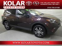 New Arrival! 2016 Toyota Rav4 AWD. Stop in and drive