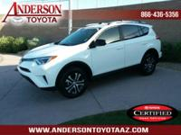 Toyota Certified. One-Owner. Clean CARFAX with a