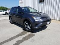 CARFAX One-Owner. Clean CARFAX. Gray 2016 Toyota RAV4