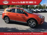 Hot Lava 2016 Toyota RAV4 LE FWD 6-Speed Automatic 2.5L