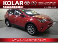 Barcelona Red Metallic 2016 Toyota RAV4 Limited AWD