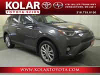 2016 Toyota RAV4 LimitedRAV4 Limited, AWD, ONE Owner