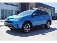 This BLUE 2016 Toyota RAV4 4D SUV FWD might be just the