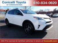 This Toyota RAV4 is Certified Preowned! CARFAX 1-Owner!