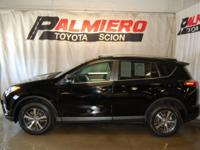 This 2016 Toyota RAV4 XLE in Black features: AWD CARFAX