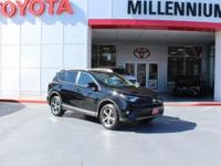 Certified. Black 2016 Toyota RAV4 XLE AWD 6-Speed