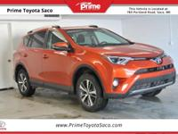 CARFAX One-Owner! Toyota Certified! 2016 Toyota RAV4
