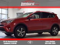 Options:  2016 Toyota Rav4 Xle Awd|Barcelona Red