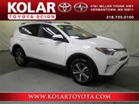 2016 Toyota RAV4 XLE, 2.5L 4-Cylinder and AWD. Great