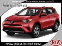 This 2016 Toyota RAV4 XLE includes a braking assist,