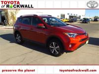 CARFAX One-Owner. Clean CARFAX. Hot Lava 2016 Toyota