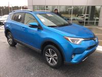 Electric Storm Blue 2016 Toyota RAV4 XLE FWD 6-Speed