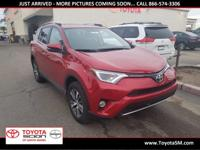 Options:  2016 Toyota Rav4 Xle|Red|30 Mpg|One