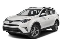 Options:  2016 Toyota Rav4 Xle|White/|V4 2.5 L