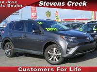 Options:  2016 Toyota Rav4 Xle|Gray|4-Cyl 2.5
