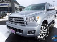 Options:  2016 Toyota Sequoia Limited|Silver|Navigation