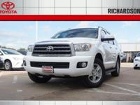 PRICED TO SAVE YOU TIME NAD MONEY! 2016 Toyota Sequoia