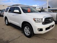 Options:  2016 Toyota Sequoia Rwd 5.7L Sr5 Used|White