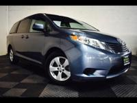 Your active family deserves our 2016 Toyota Sienna LE