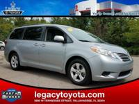 CARFAX One-Owner. BALANCE OF FACTORY WARRANTY, Sienna