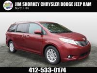 2016 Toyota Sienna L New Price! CARFAX One-Owner. Clean