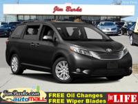 This 2016 Toyota Sienna XLE is a 100% Carfax Guarantee