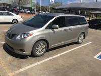 We are excited to offer this 2016 Toyota Sienna. Your