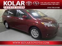2016 Toyota Sienna XLE and 3.5L. Makes way for the