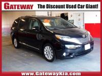 THIS 2016 TOYOTA SIENNA LIMITED SEVEN PASSENGER HAS