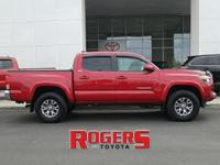 The Tacoma has a V6, 3.5L high output engine. Our