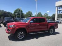 Barcelona Red Metallic 2016 Toyota Tacoma Limited V6