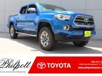 This 2016 Toyota Tacoma Limited comes complete