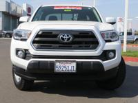 Options:  2016 Toyota Tacoma Access Cab Sr5|White|2.7L