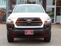 Options:  2016 Toyota Tacoma Sr|Super White/Cement