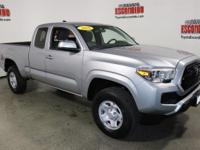 Certified. Silver Sky Metallic 2016 Toyota Tacoma SR