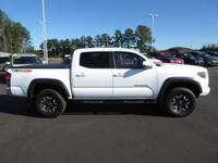 Look at this 2016 Toyota Tacoma TRD Off Road. Its