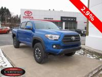 2016 Toyota Tacoma  Awards: * KBB.com Best Resale Value